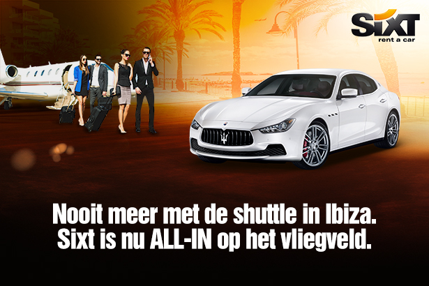 Sixt car rental Ibiza Airport