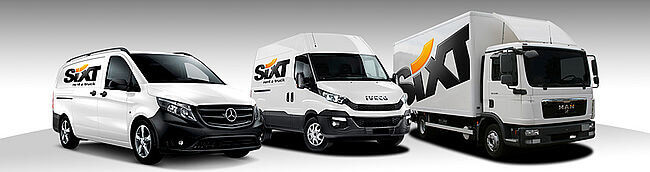 Location Camion Sixt