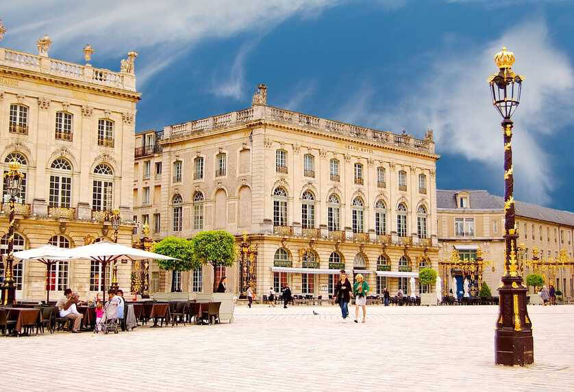 la place Stanislas à Nancy