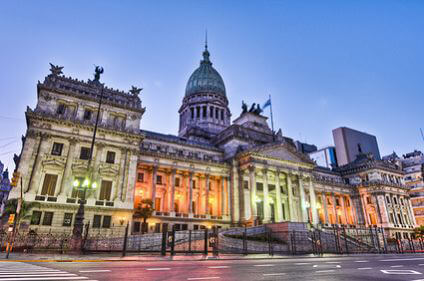 Argentina National Congress building